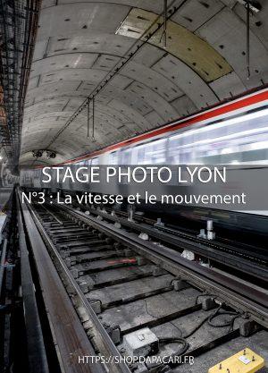 apprendre le flou de mouvement en photo à Lyon