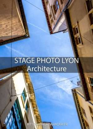 Photographe professionnel Lyon stage photo architecture