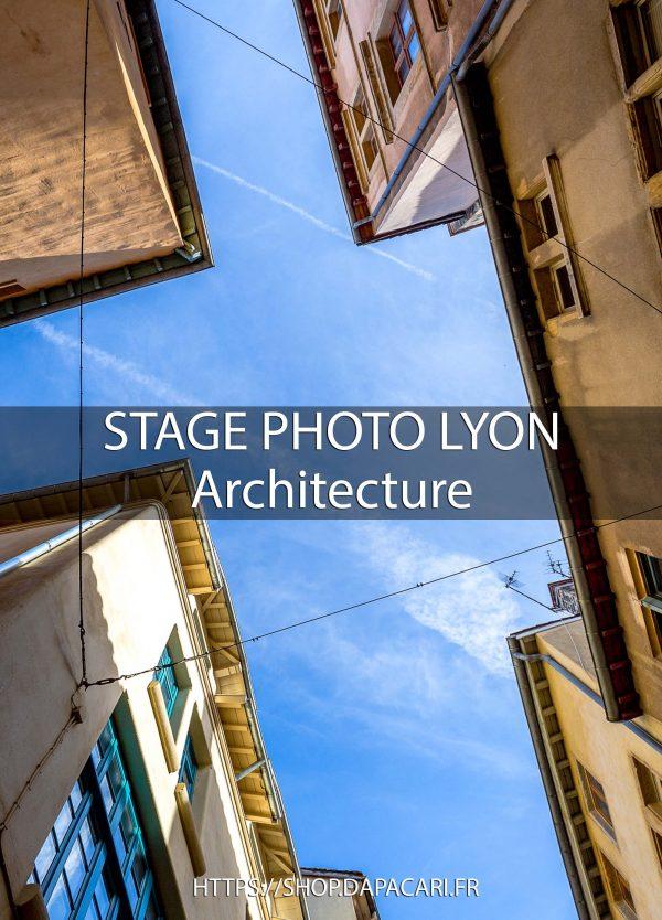 Photographe professionnel Lyon stage photo architecture