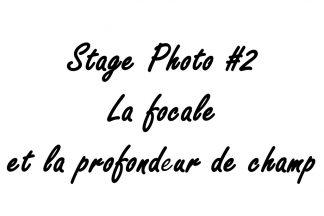 Stage photo à Lyon la focale et la profondeur de champ