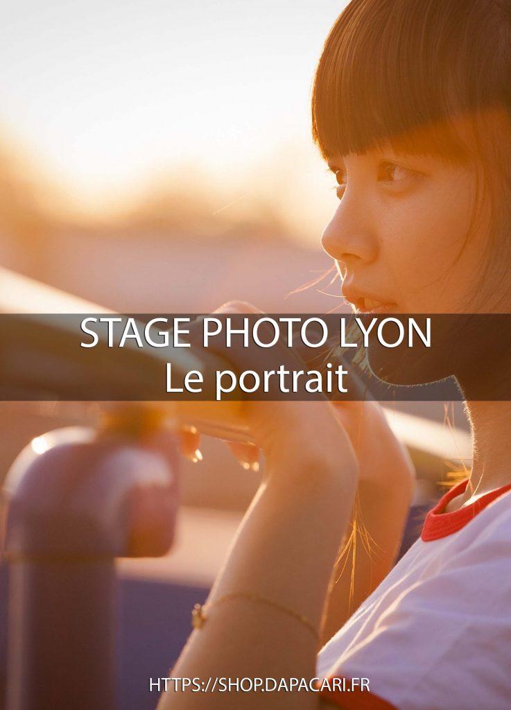 cours en photographie portrait apprendre la photo de portrait à Lyon