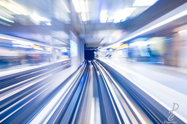 photo vitesse métro apprendre la photo à Lyon