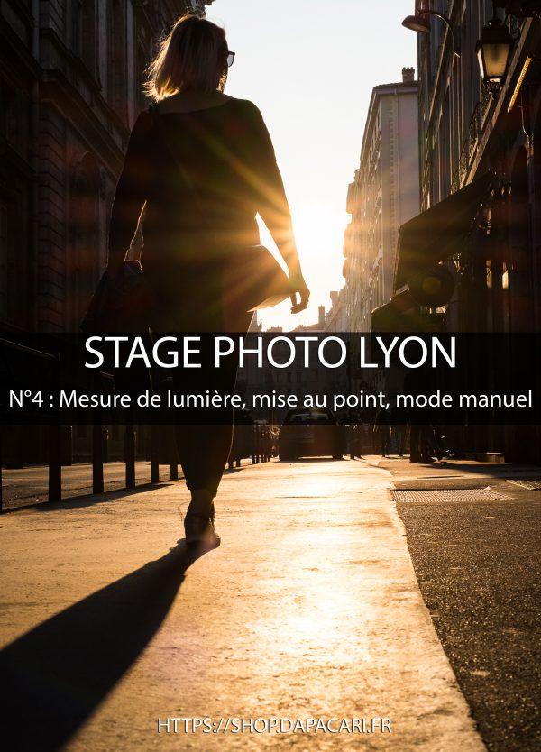 stage photo à Lyon sur le mode manuel