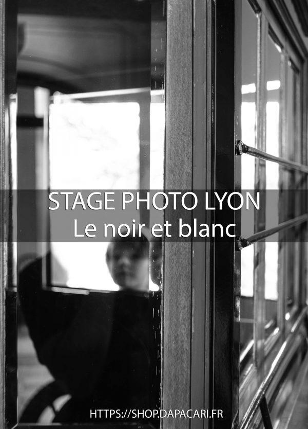 Photographe professionnel Lyon stage photo noir et blanc