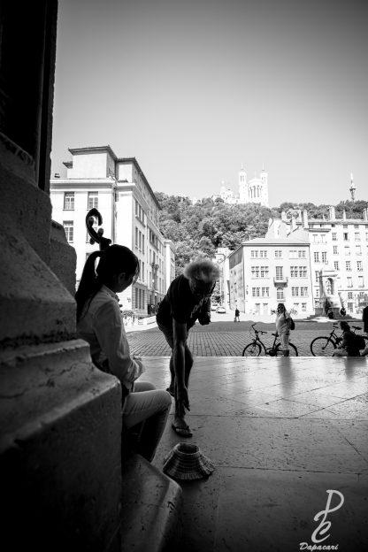 stage photo Lyon noir et blanc