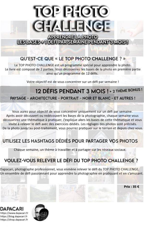 top photo challenge description